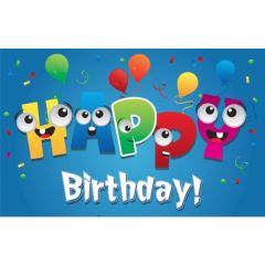 verjaardagskaart - happy birthday