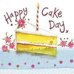 felicitatiekaart alex clark - happy cake day