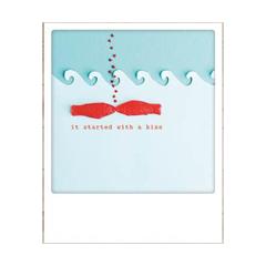 ansichtkaart instagram - it started with a kiss - vissen
