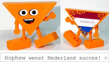 Hophew wenst Nederland succes!