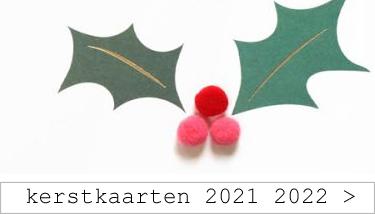 kerstkaarten 2021 - 2022