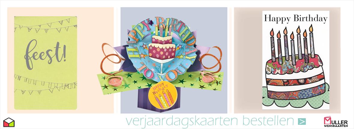 verjaardagskaarten bestellen