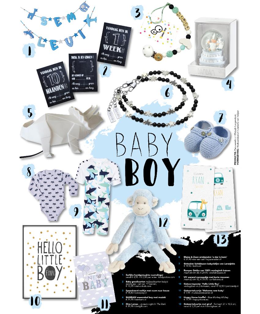 geboortekaartjes baby boy
