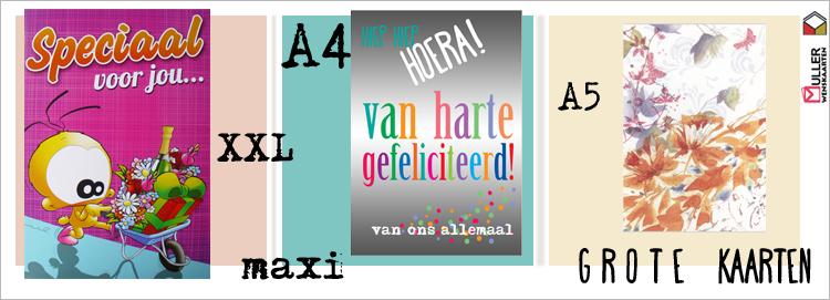 grote kaarten A4 A5
