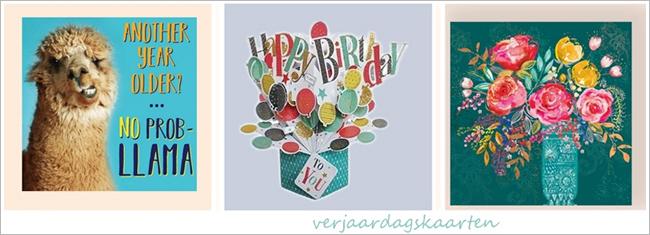 verjaardagskaarten