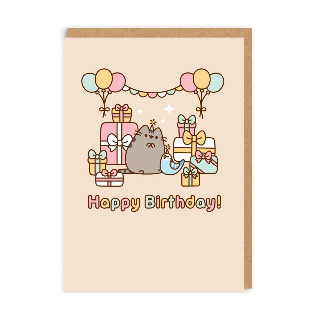 Happy Birthday - Bo en Pusheen