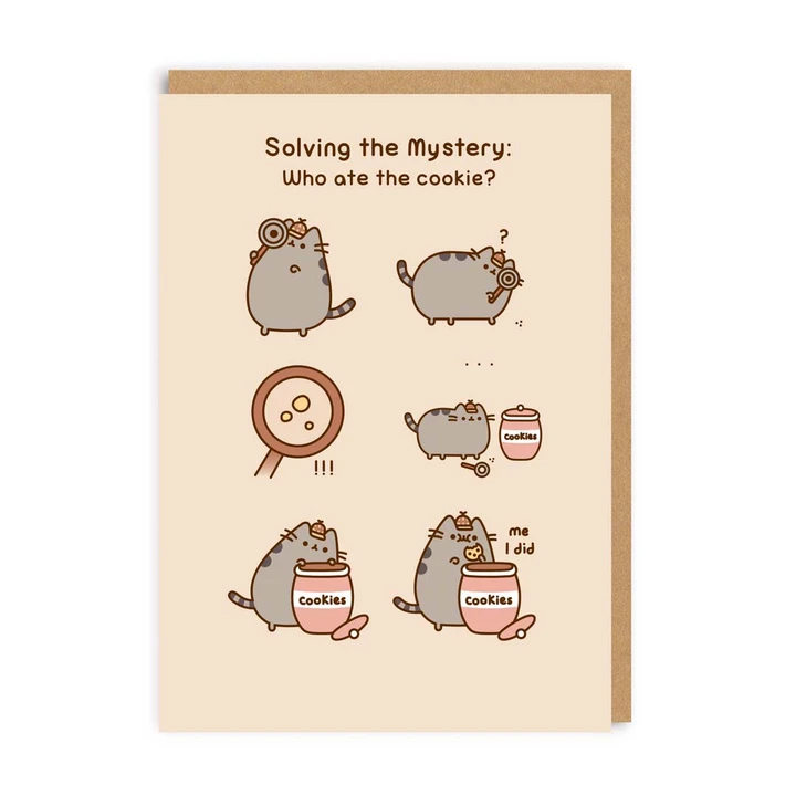 Pusheen - solve the mystery